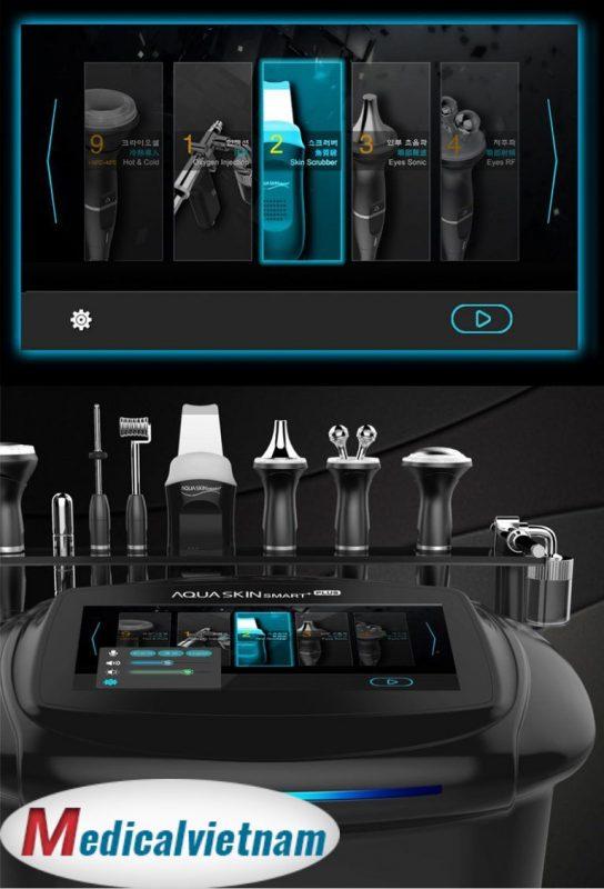 Máy trẻ hóa Aqua skin Smart Hàn Quốc